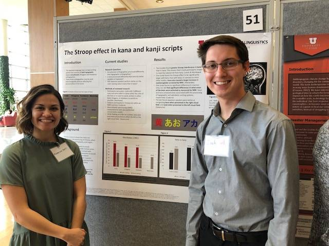 Zachary Earl, Mackenzie Kerr  The Stroop effect in kana and kanji scripts