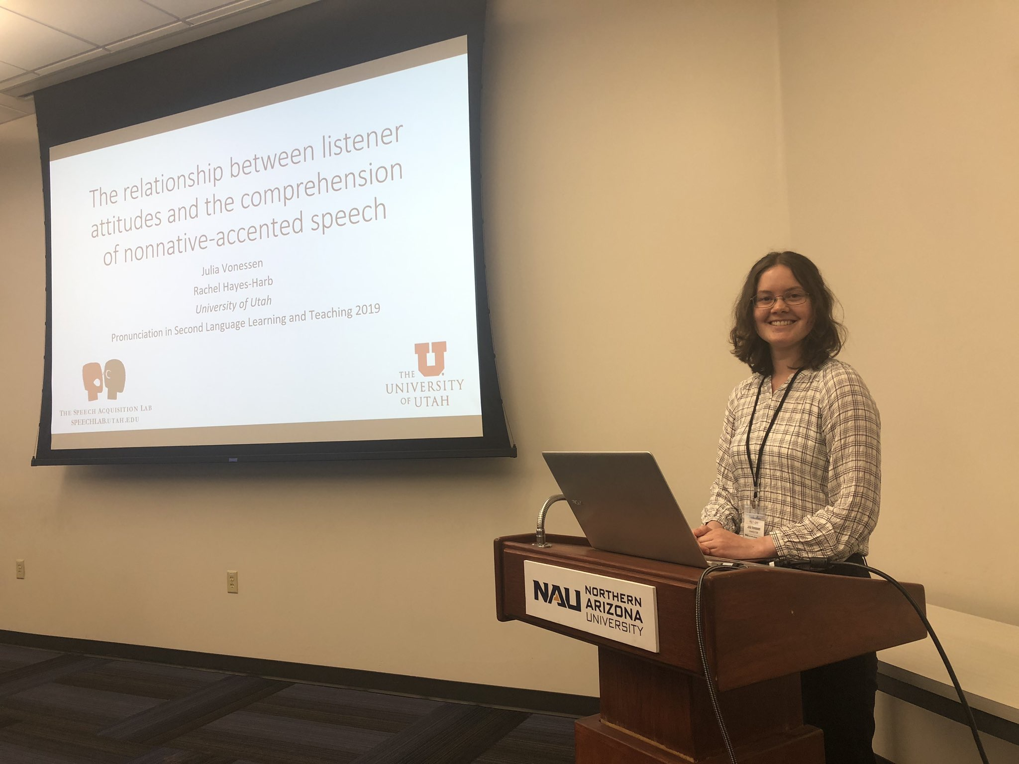 Julia Vonnessen - The relationship between listener attitudes and the comprehension of nonnative-accented speech